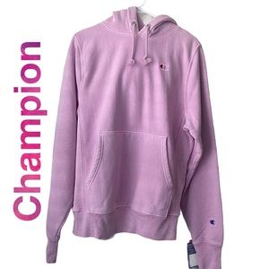 Champion Classic C Patch Oversized Hoodie …